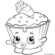 Print Exclusive Shopkins Colouring Coloring Pages To Out Free Adult