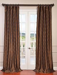 Heritage Blue Curtains Walmart by 9 Best Faux Silk Flocked Curtains Images On Pinterest Curtain