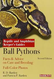 Ball Python Bedding by Ball Pythons Reptile And Amphibian Keeper U0027s Guide R D Bartlett
