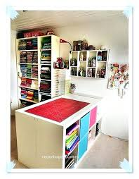 Showy Step 2 Desk Ideas by Showy Craft Desk With Storage Photos Art And Crafts Room Desktop