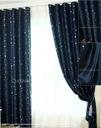 Navy Geometric Pattern Curtains by Curtains Accentuate The Rooms In Your Home With Dramatic Look