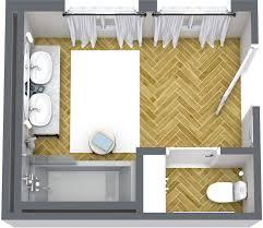 6x8 Bathroom Floor Plan by Floor Plans Roomsketcher