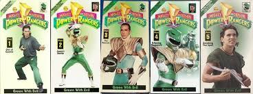 ranger part 1 the history of power rangers on vhs morphin legacy