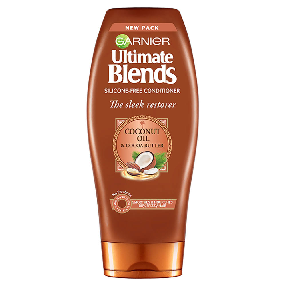 Garnier Ultimate Blends Conditioner - Coconut Oil & Cocoa Butter, 360ml