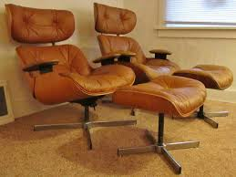 Furniture : Best Furniture Brown Leather Eames Lounge Chair ... Eames Lounge Chair Ottoman Replica Aptdeco Black Leather 4 Star And 300 Herman Miller Is It Any Good Fniture Modern And Comfort Style Pu Walnut Wood 670 Vitra Replica Diiiz Details About Palisander Reproduction Set