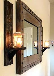 western wall sconce rustic lantern wall sconce light fixture