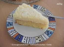 zwergenstübchen schneeflöckchen torte