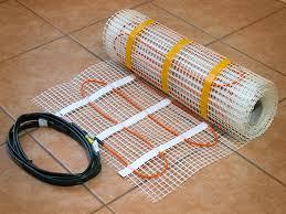 tile floor heating wire radiant heat systems heated floor tiles