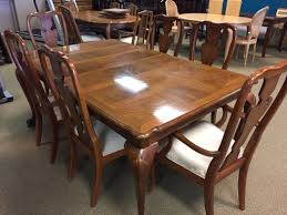 Ethan Allen Dining Room Sets Used by Thomasville Fisher Park Dining Allegheny Furniture Consignment
