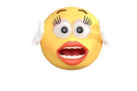 Oh No Surprise Emoji Transparent PNG