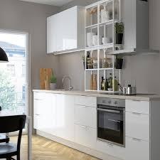 enhet تشكيلة جزيرة مطبخ بمقعد أبيض 123x63 5x91 سم