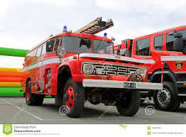 100 Ford Fire Truck Vintage In A Show Editorial Stock Image Image Of