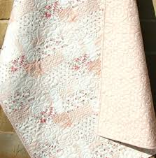 Shabby Chic Nursery Bedding by Shabby Chic Quilts Crib Rag Quilt Baby Crib Bedding Shabby