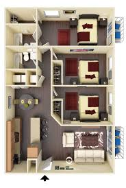 3 Bedroom Townhomes For Rent Near Me by 3 Bedroom Apartments Near Me Home Design