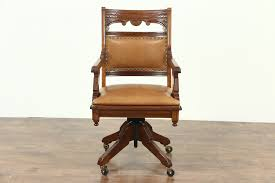 Victorian Eastlake Antique Swivel Desk Chair, Signed Johnson Pat 1887  Leather How To Use Brown Antique Fniture Furnishings House Folding Chair Stock Photos Cheap Cane Chairs Find Deals On Paint A Ding Room Table Home Guides Sf Ca1900 Antique Set 6 Oak Victorian P Derby Tback Small Button Back Hot Item New Design Two Sides Arch Set Wedding Backdrop For Party Vbanquet Decoration Elbow Elm Bowback Smokers Captains Desk C1880 Lighting Light Fixtures With Large Applying Decorative Upholstery Tacks And Nailhead Trim Woodleather Folding Stool History Britannica