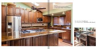Chocolate Maple Glazed M01 ALL WOOD CABINETRY Mills Pride