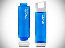 The Square Water Bottle By Clean