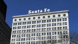 What happened to the Santa Fe sign · Chicago Architecture