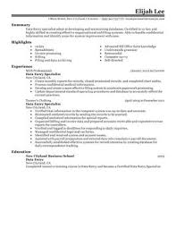 Sample Resume For Entry Level Human Resource Resources Administration Samples