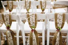 Burlap And Lace Sash