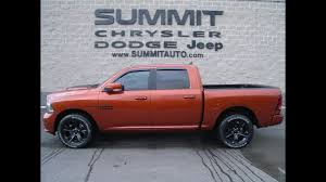 SOLD! 7T258A USED 2017 RAM 1500 COPPERHEAD ORANGE SPORT HEMI ...