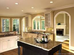 Kitchen Paint Colors With Medium Cherry Cabinets by Kitchen Wall Color Ideas With Cherry Cabinets Paint Colors Brown