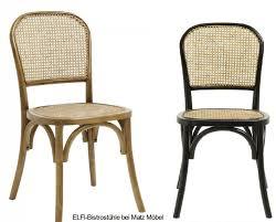 elfi stuhl holz rattan wiener geflecht matz möbel vintage designermöbel