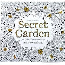 Art Books Coloring For The Best Prices In Malaysia HengSong Secret Garden Book Relaxing Multicolor