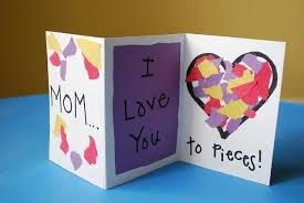Paper Craft Cards Ideas 28 Simple Mothers Day Crafts And Gift Teach Junkie