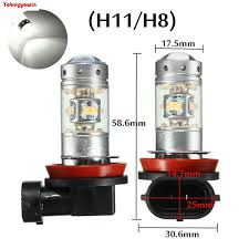 aliexpress buy 2 unidades 1200 lumens h11 h8 e hb4 28 led