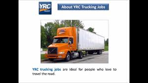 YRC Trucking Jobs - YouTube