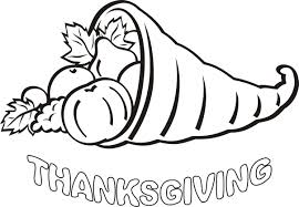Thanksgiving Coloring Pages For Kindergarten Page Kids Free Book