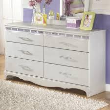 Sauder Harbor View Dresser Antiqued Paint by Zarollina Dresser By Signature Design By Ashley Furniture