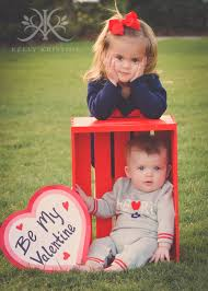 Kelly Kristine Photography | Adorable Sibling Valentine Photo Ideas ...