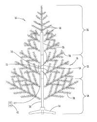 Puleo Christmas Trees by Patent Us6794825 Decorative Tree With Electronic Light