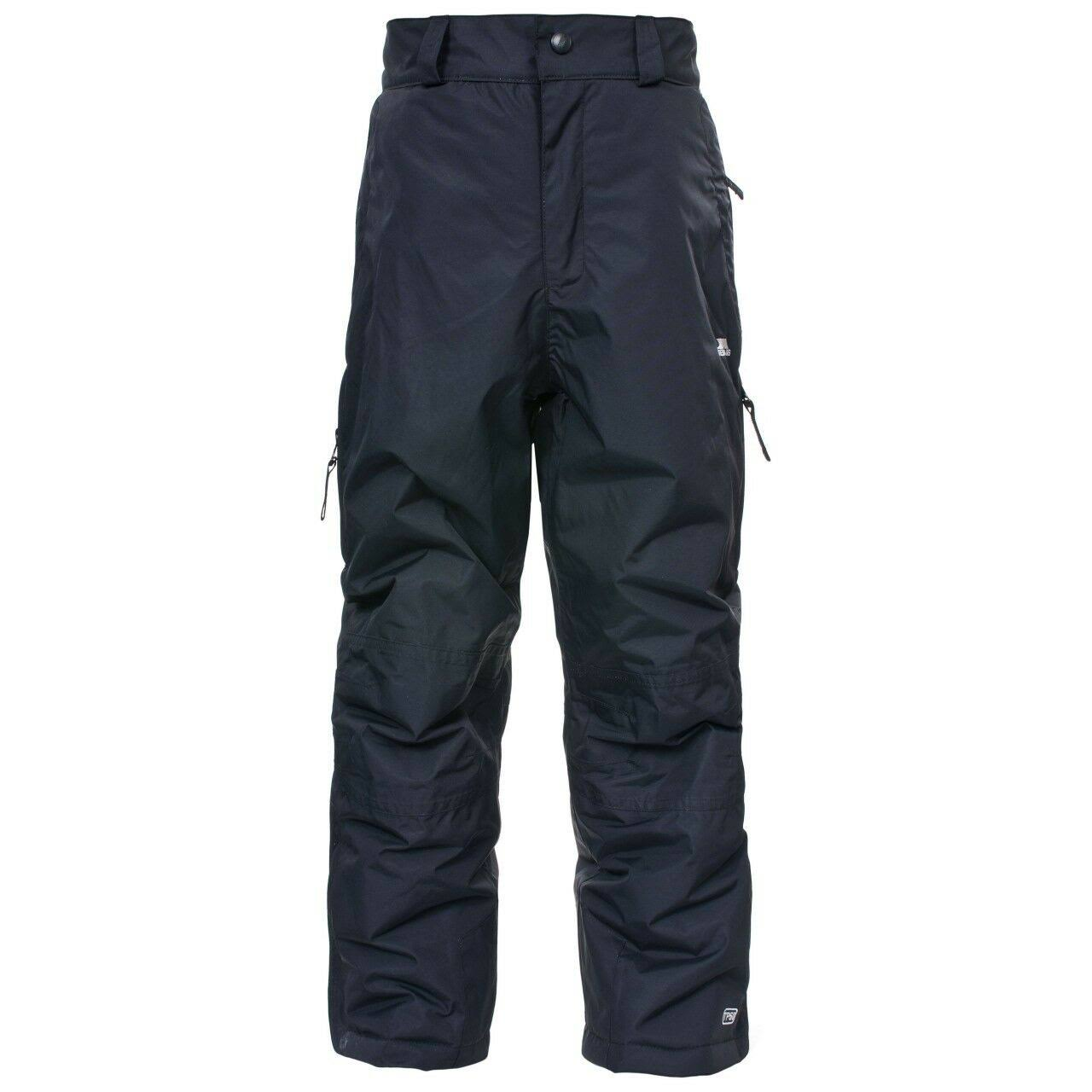 Trespass Marvelous Kids Ski Pants - Black, Size 5-6