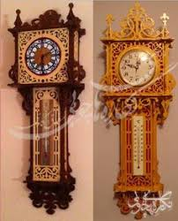 free wooden clock plans dxf woodworking plans pinterest