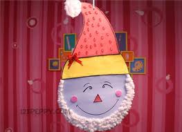 How To Make Santa Wall Hanging Online 123Peppy