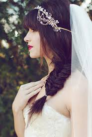 2014 Fall Winter 2015 Wedding Hairstyles Dipped In Lace