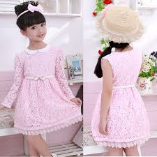 Vintage Lace Flower Girl Dress Girls Fall Dresses Toddler Teenager Clothing Big Childrens Outerwear Kids Costume CL0935 G In From Mother On