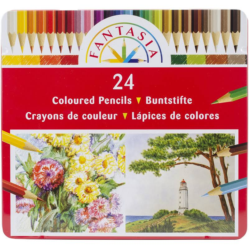 Fantasia Colored Pencil Set - 24ct