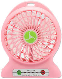 Bladeless Table Fan India by Compare Shopimoz Mini Portable Super Fast Mist Rechargeable Fan 4