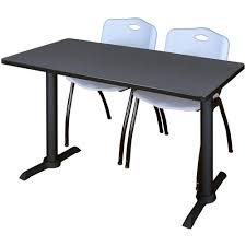Training Table And Chairs Set MTRCT4824GY47GY | SchoolFurniture4Less.com Office Tables And Chairs Traing Room Fniture Kobe Table Zeng Stack Black The Place 1 Cubicles Plus Seminar In Singapore Eptecstore Designer Mobile Folding 10w00dx750h Rectangular Modular Conference Smart Buy Rentals Arthur P Ohara Inc 18 X 60 Plastic Set With 2 Regency Seating Woodmetal Newest 84 W Hendrix Chair Finish Cubes2u Teknion 2x5 Contoured W Height Adjustable Richmond Interiors