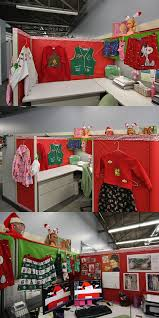 Cubicle Decoration Themes In Office For Christmas by 48 Best Holiday Cubicle Decorating Ideas Images On Pinterest
