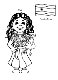 Find This Pin And More On Dolls Free Printable Coloring Page Kids From Around The World