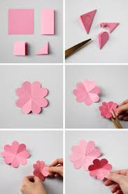 How To Make Easy Flower With Paper Choice Image Decoration