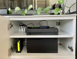 yes the xbox series x will probably fit in your ikea