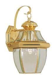 livex lighting 2151 02 monterey 1 light outdoor polished brass