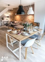 Dining Room Table Lights Elegant Loving Apartment By Shokosign Zdjaccie Od