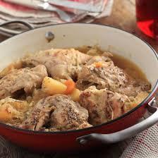 lapin cuisiné lapin au cidre cuisine az